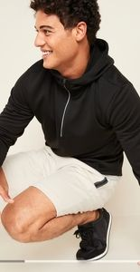Go-Dry French Terry Half-Zip Hoodie